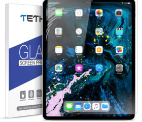 TETHYS Glass Screen Protector Designed for iPad Pro 12.9-inch