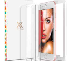 XClear Screen Protector for iPhone 8 / 7 / 6s / 6 (4.7-inch) (3 Pack)