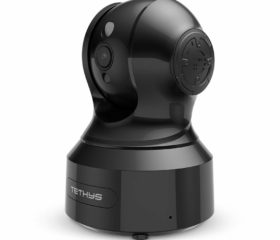 TETHYS Wireless Security Camera 1080P HD [Works with Alexa]