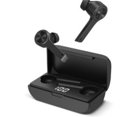 XClear Wireless Earbuds with Immersive Sounds True 5.0 Bluetooth In-Ear Headphones with Charging Case/Quick-Pairing Stereo Calls/Built-in Microphones/IPX5 Sweatproof/Pumping Bass for Sports Work Out