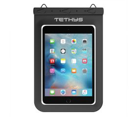 TETHYS Waterproof Dry Bag for Devices up to 8.8 inches - Black