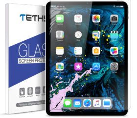 TETHYS Glass Screen Protector Designed for iPad Pro 11-inch